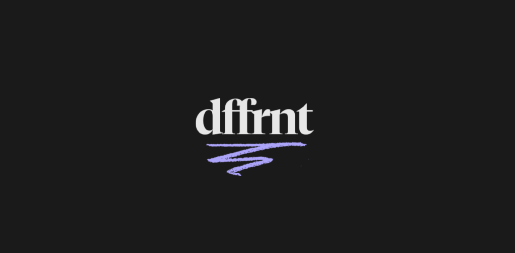 Dffrnt Rebrand Logo – This new name & visual change has been in the pipeline for a little while now